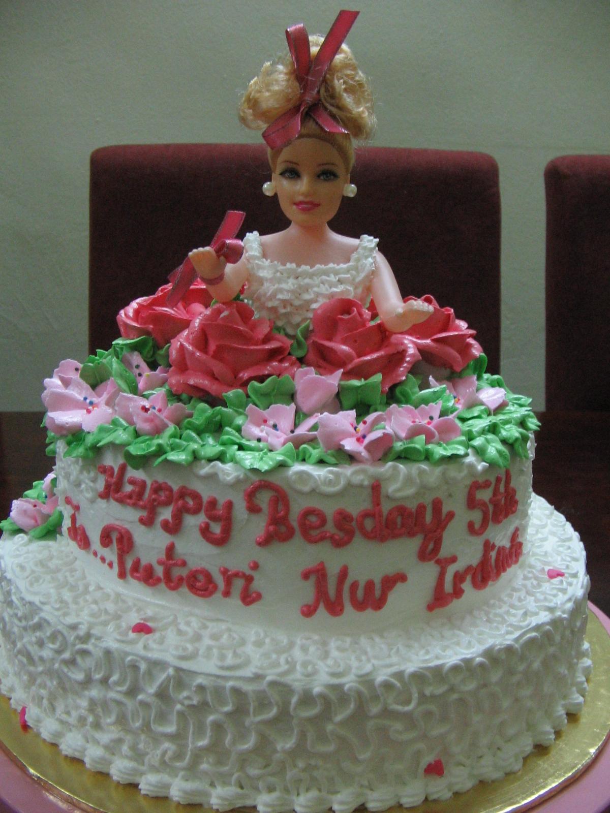 Princess Barbie In The Garden Linacupcakecreations