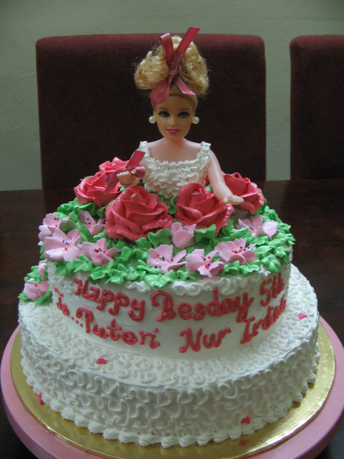 Happy Birthday Cake Barbie Doll Happy Birthday Barbie Doll