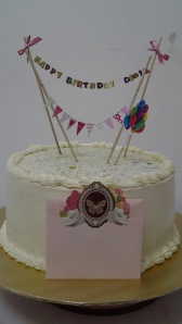 Rainbow Cheese Cake Theme : Hangging on decoration Price : RM88