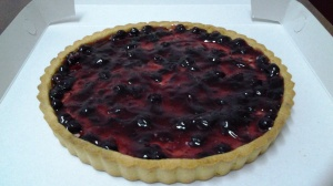 Blueberry Cheese Pie 8 inci size - RM30