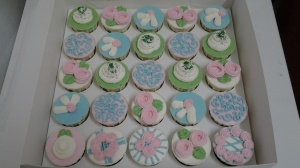 Butter  Cupcake and Chocolate Cupcake with buttercream Theme - Lovely Land